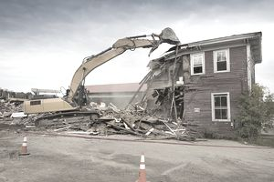 Image result for cheapest way to demolish a house