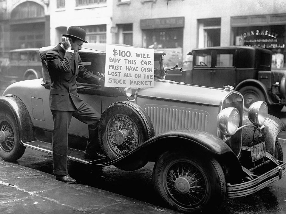 Stock Market Crash of 1929: Definition, Facts, Causes, Effects