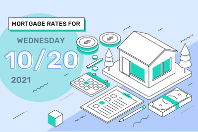 Mortgage Rates for Wednesday, October 20, 2021