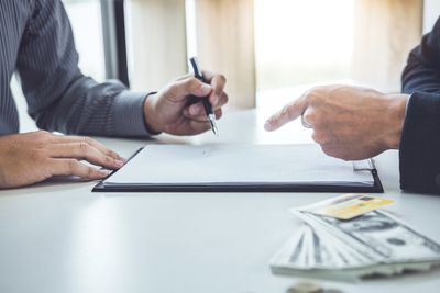 Business Partners Having Agreement In Office
