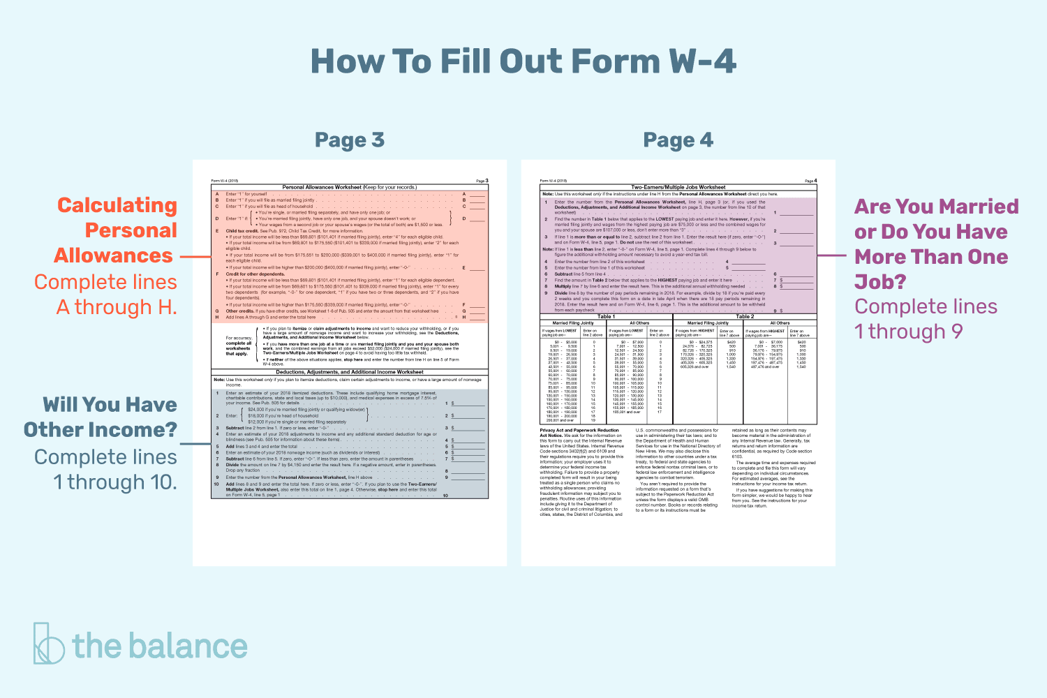 w2 form allowances  Tips for Calculating Allowances and Preparing Form W-13