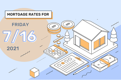 Mortgage Rates for Friday, July 16, 2021