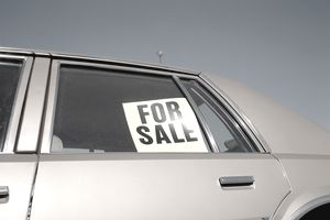 Car for sale which may or may not be better than donating