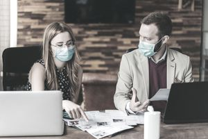 Human Resources recruiting new employees, COVID-19 pandemic