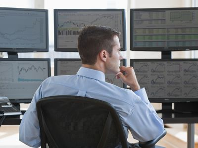 Day trader considers his options for using a scalping technique