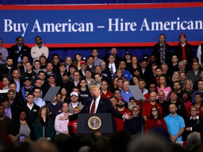 Trump speaking to auto workers