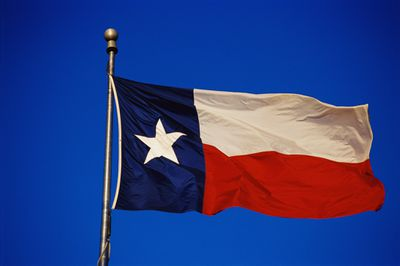 State flag of Texas, where intestacy succession laws decide what happens when a person dies without a will