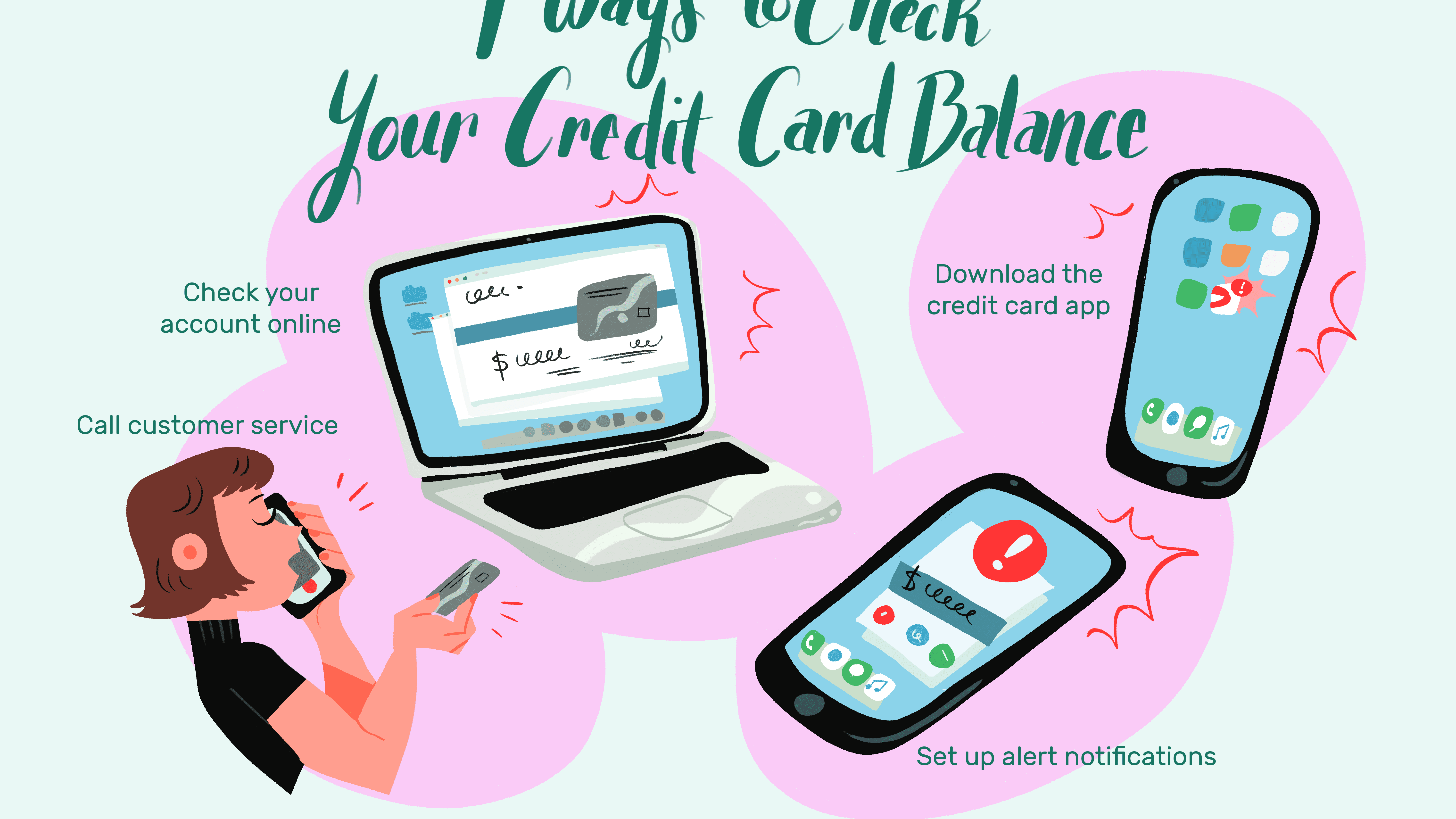 File Check Out Card how to check your credit card balance
