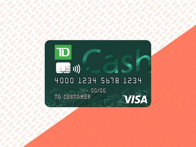 green td cash card on orange and white background