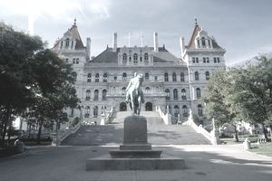 The state capital of New York