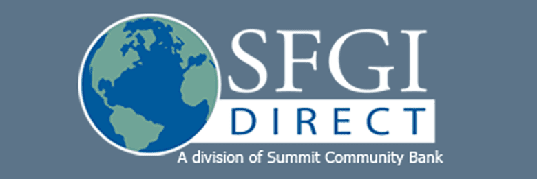Logo for SFGI Direct bank review