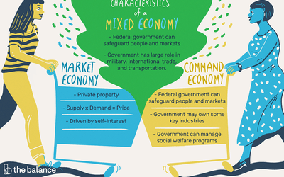 what is a mixed economy