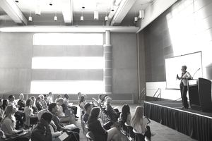 seminar with full audience