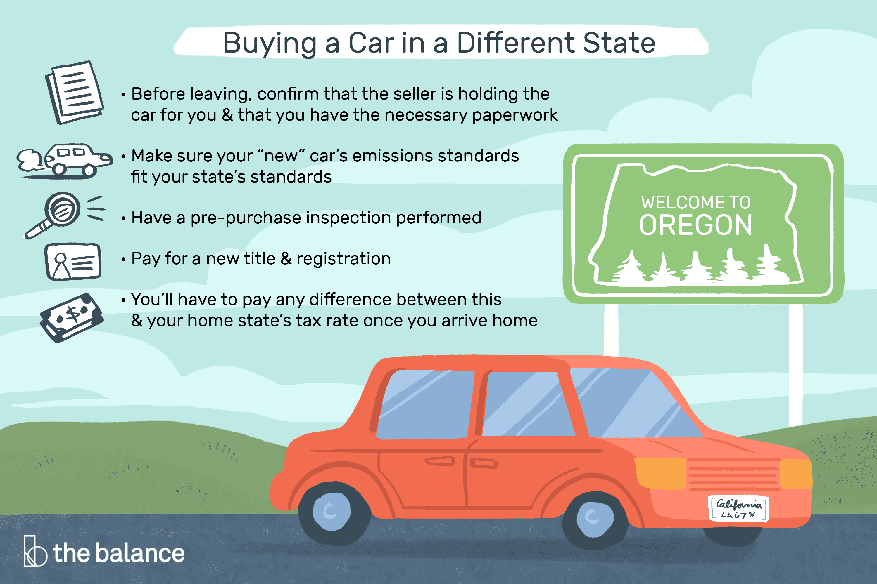 Tips for Buying a Car in a Different State