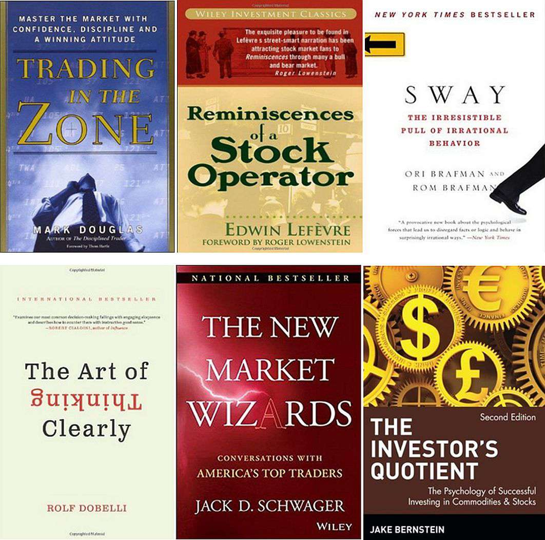 6 Trading Psychology Books Every Trader Must Read
