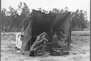 During the Great Depression, People Lost Their Homes and Lived in Tents. Could That Happen in the U.S. Again?