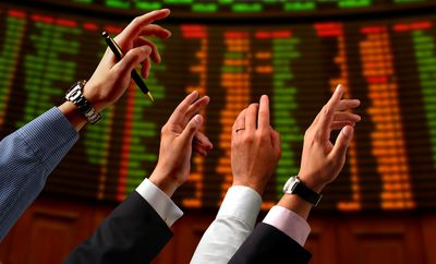 Traders on the Floor