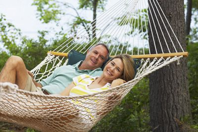 Couple enjoying early retirement that is possible with smart planning.