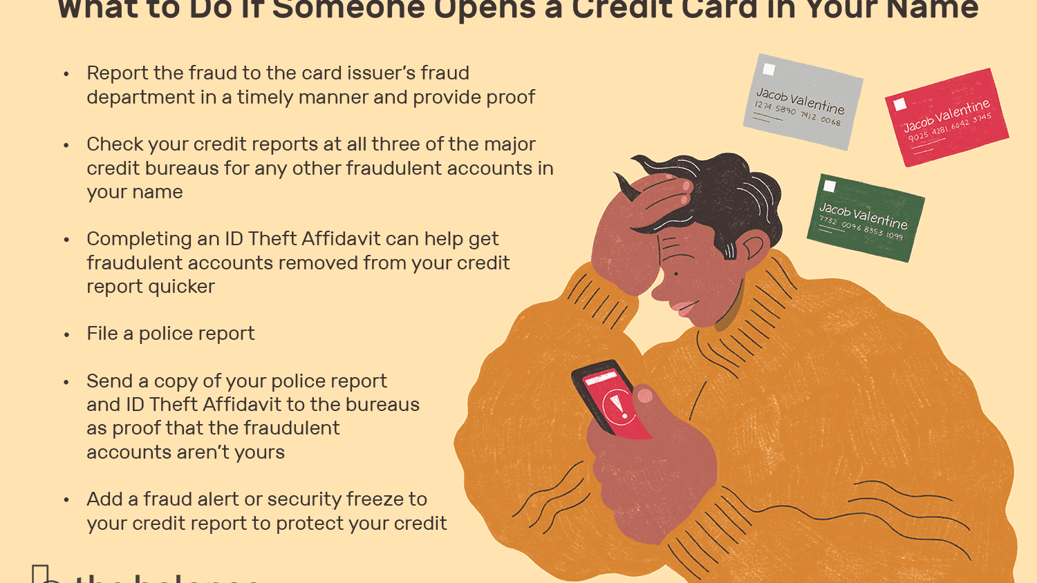 Someone Opened a Credit Card in My Name - What to Do