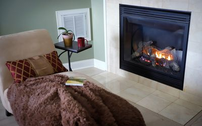 Are Unvented Gas Log Fireplaces Right For Your Home