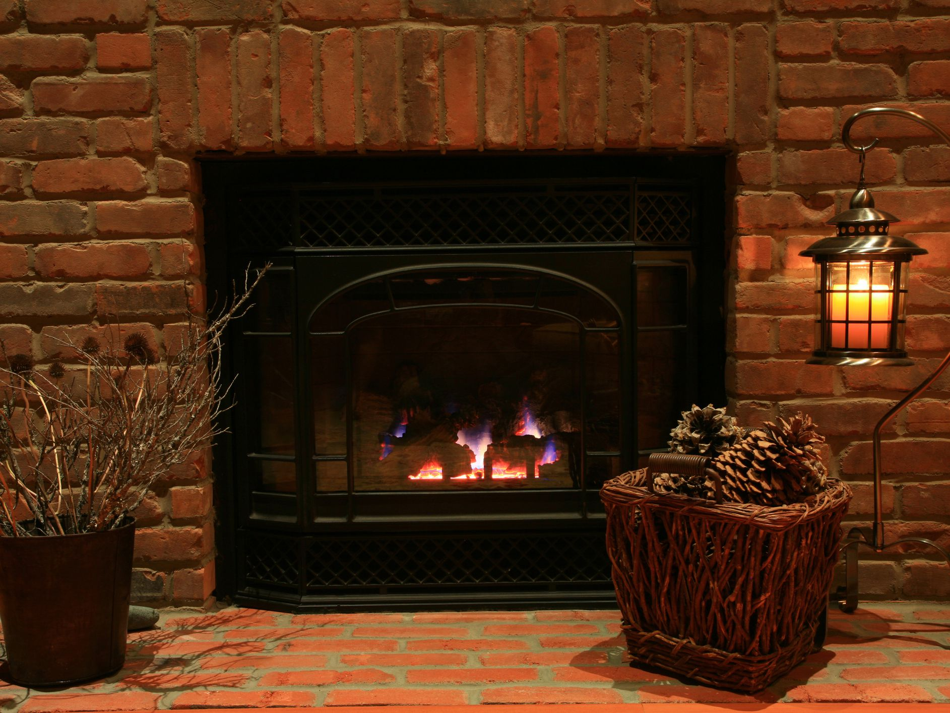 Enjoyable Are Unvented Gas Log Fireplaces Right For Your Home Home Remodeling Inspirations Genioncuboardxyz