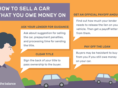 Illustration of how to sell a car that you owe money on