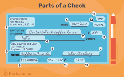 Where S The Routing Number On A Check Payment