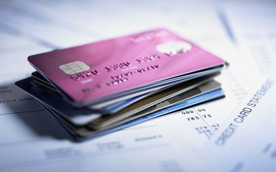 The basics of rewards credit cards a stack of credit cards reheart Gallery
