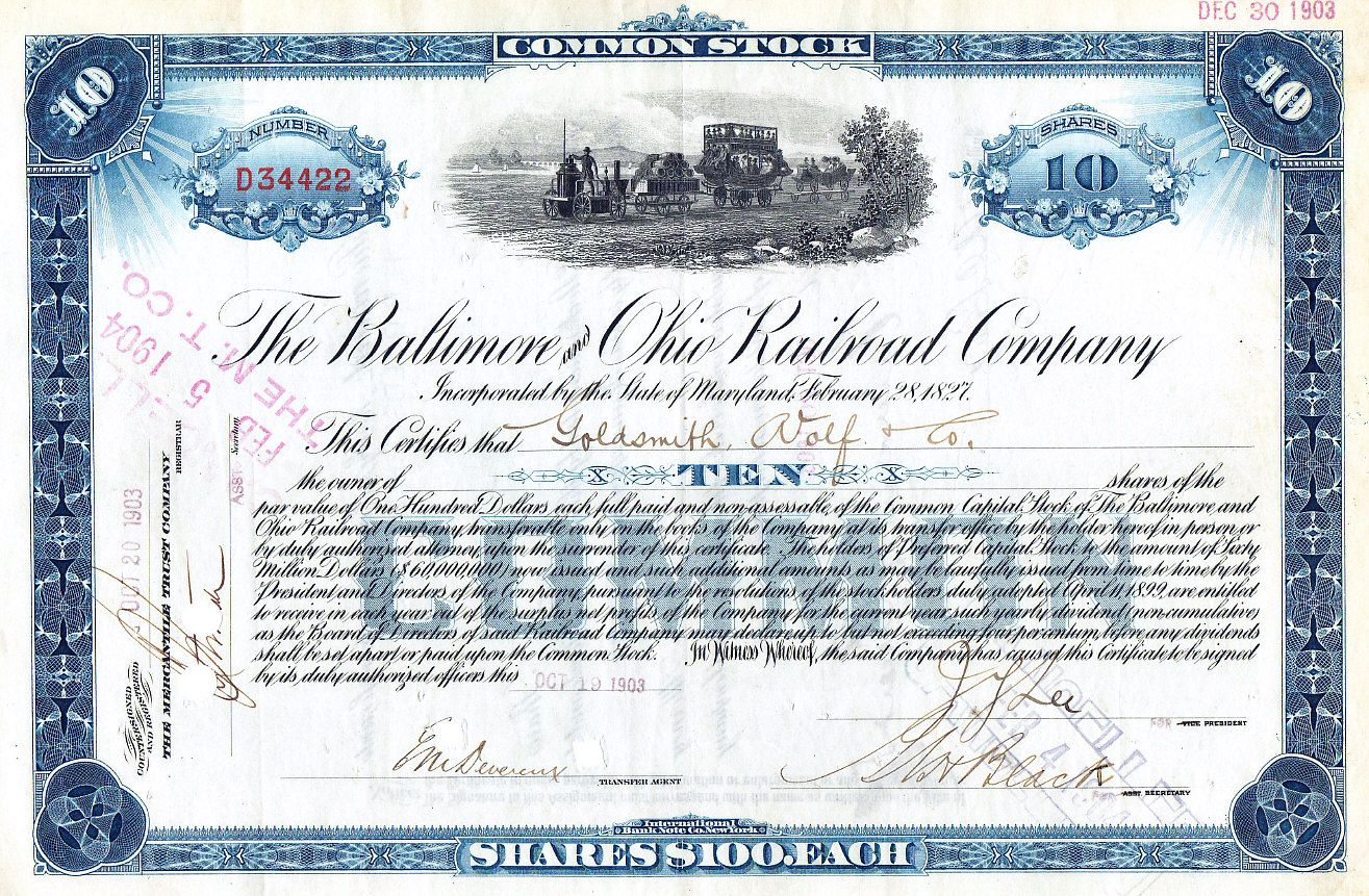 how to get a stock certificate replaced