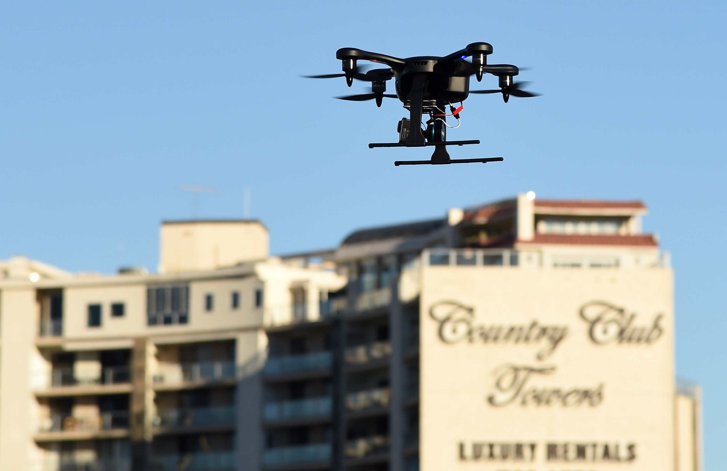 Flying a drone near private property - invasion of privacy