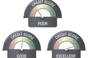 Financial Credit Rating Scale - Illustration.