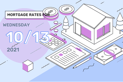 Mortgage Rates for Wednesday, October 13, 2021