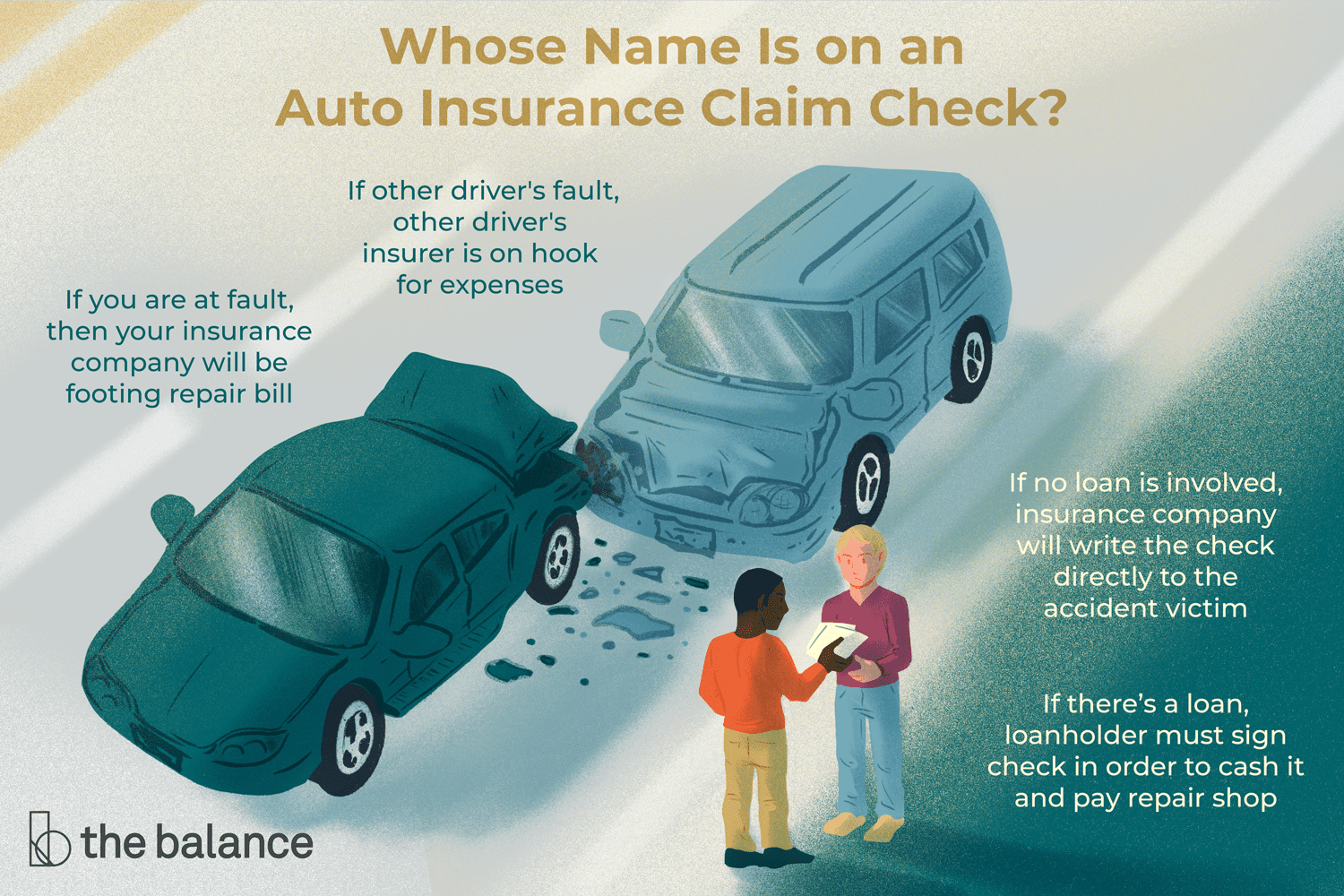 Who An Auto Insurance Claim Check Will Be Made Out To