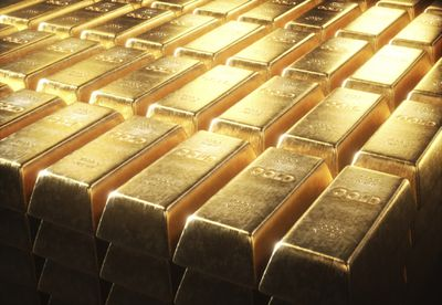 A close up of of gold bars that any investor would love in their portfolio