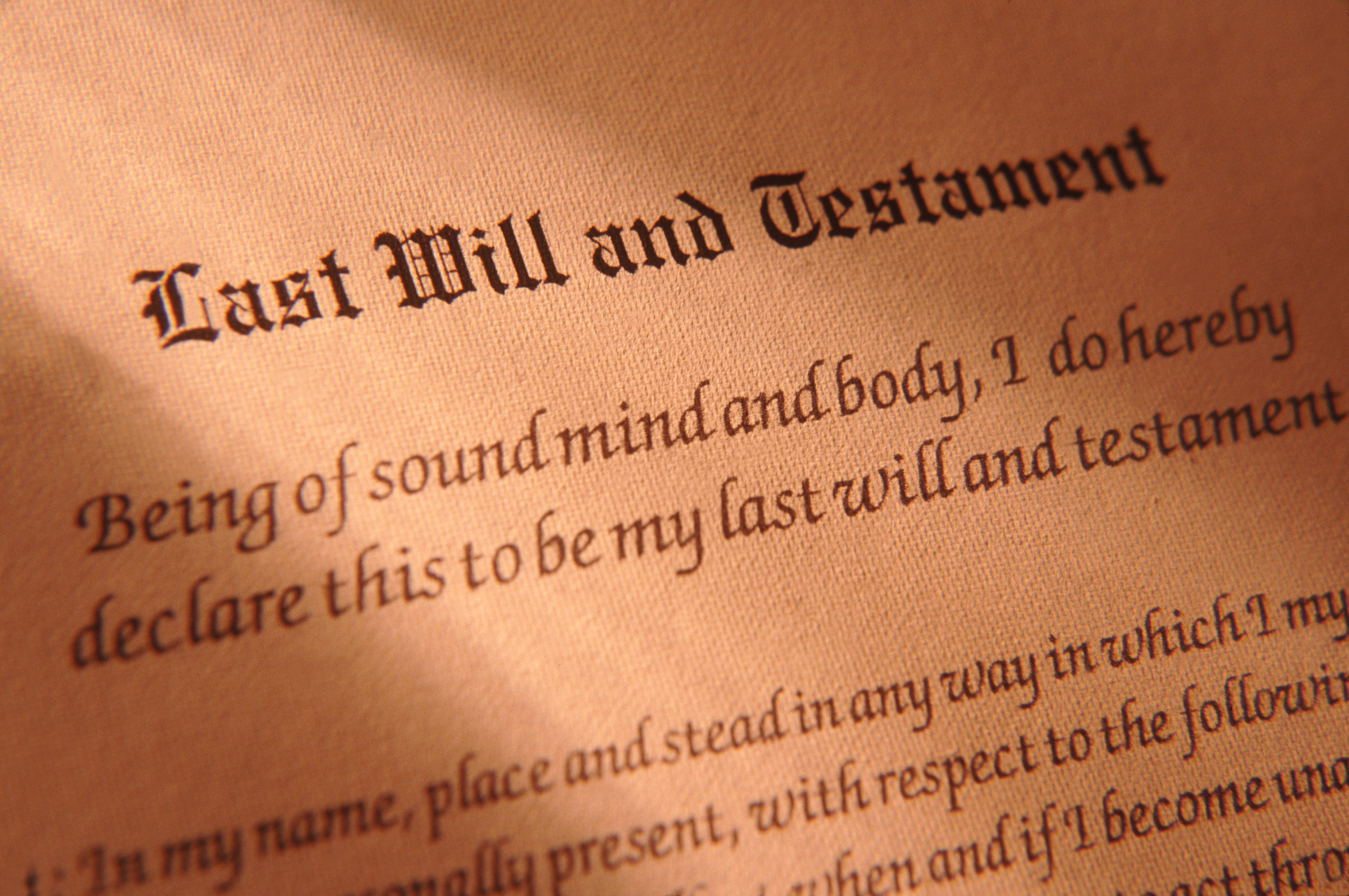 Your US Last Will And Testament Abroad - Last will and testament pennsylvania template