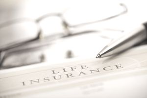 A picture of a life insurance policy for a stay-at-home mom