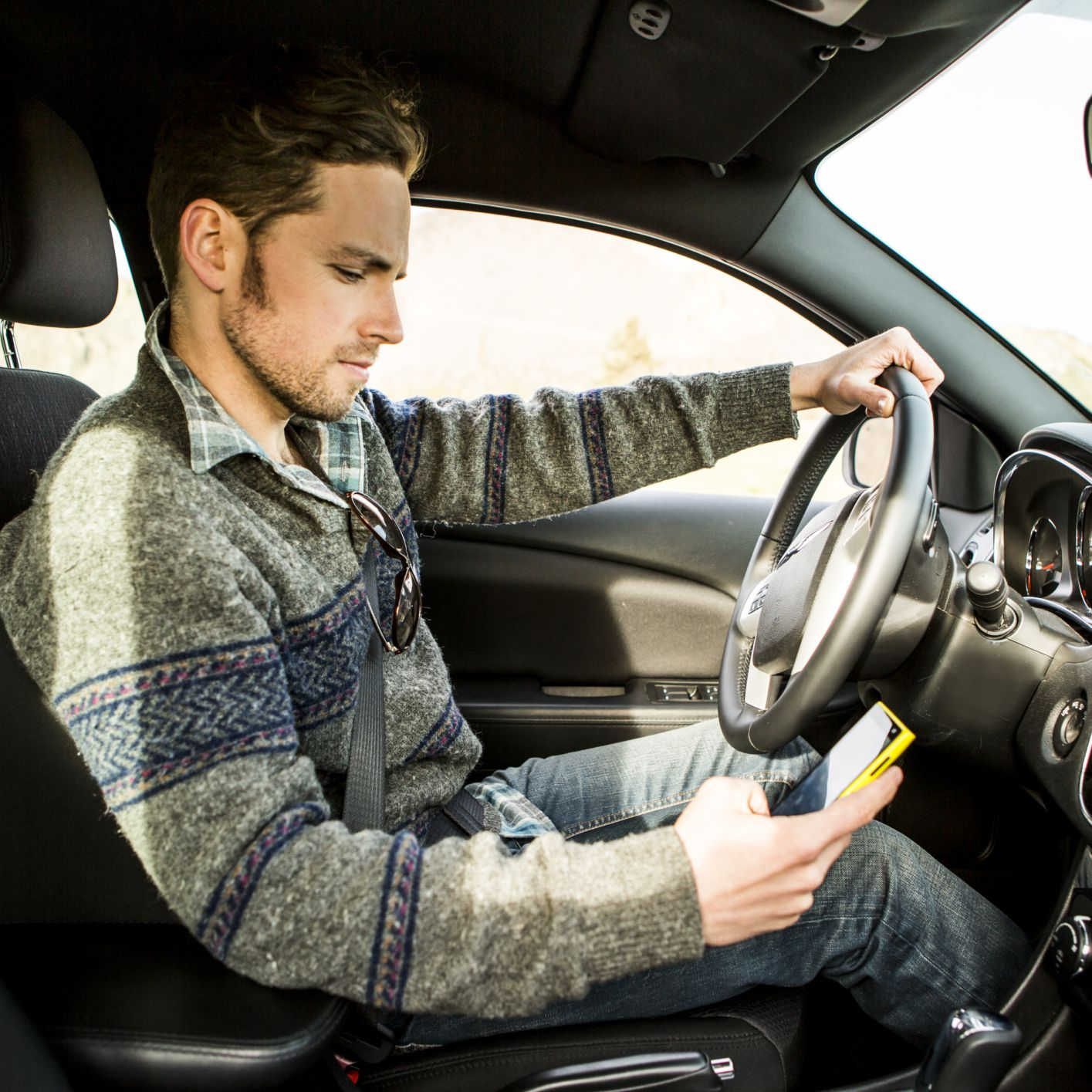 Causes and Effects of Driving Distracted