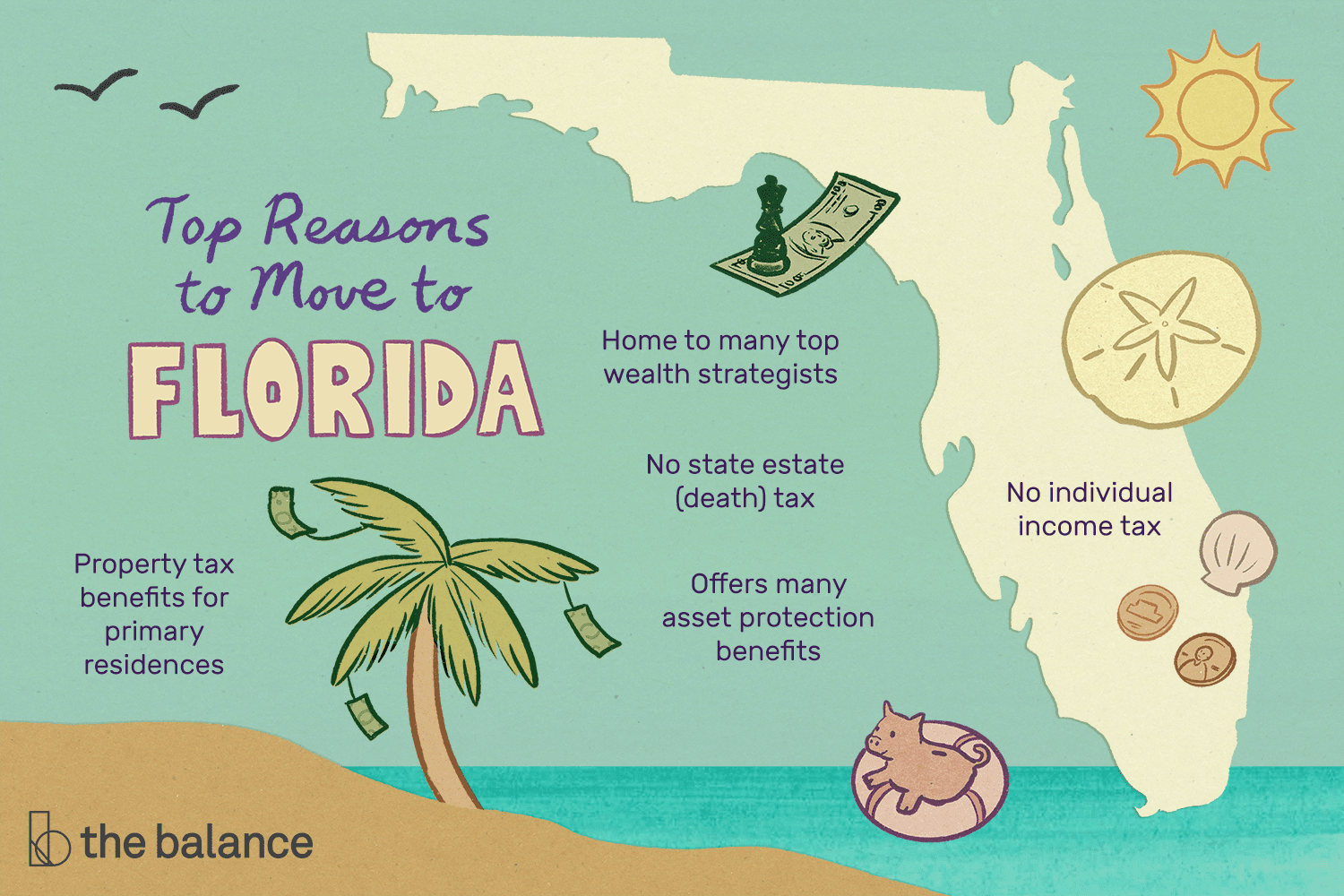 Top 5 Reasons To Become A Florida Resident