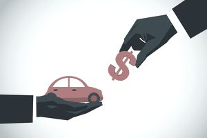 paying for car insurance illustration