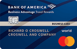 Business Advantage Travel Rewards credit card