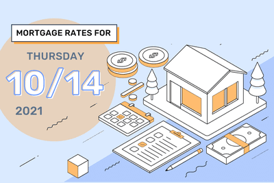 Mortgage Rates for Thursday, October 14, 2021