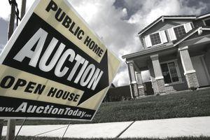 The Fannie Mae and Freddie Mac bailout led to many foreclosures and home auctions.