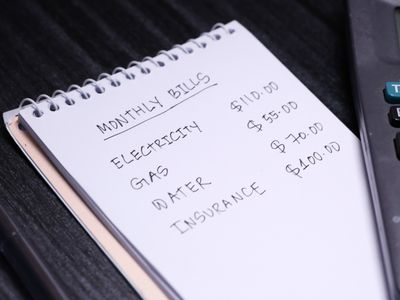 Budgeting, calculating monthly bills