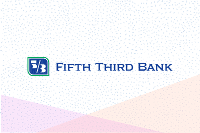 Fifth Third Bank logo on graphic background