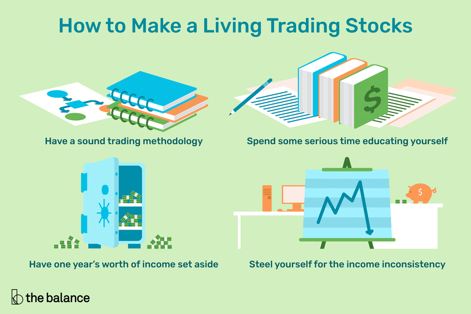 How to make a living trading stocks