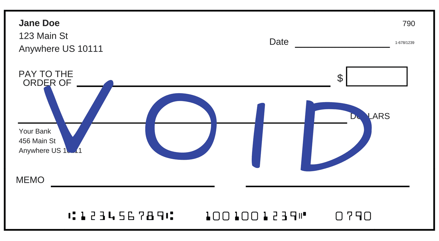 How to Void a Check: Set up Payments, Deposits, and Investments
