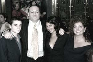 James Gandolfini and family members