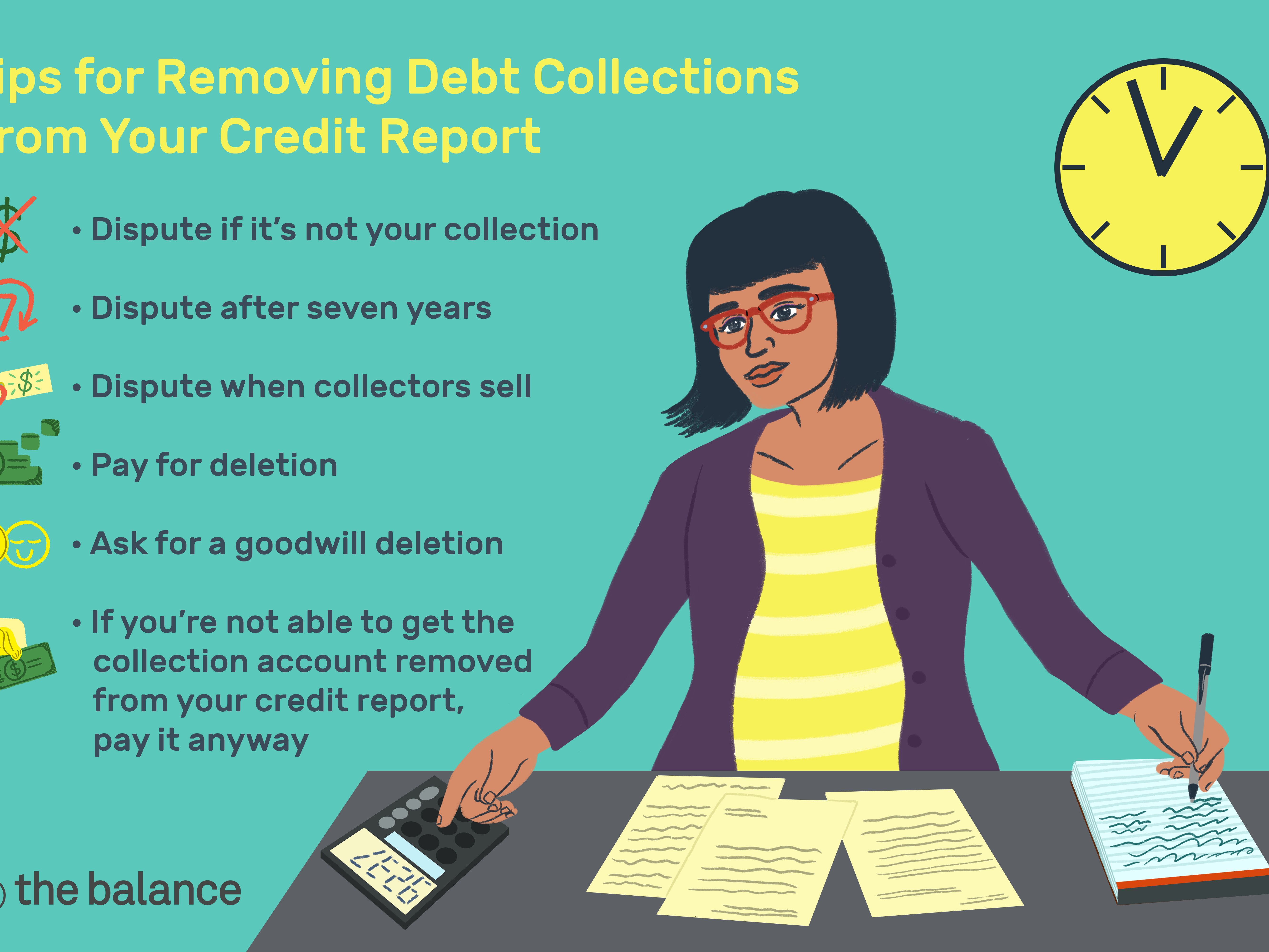 Remove Debt Collections From Your Credit Report