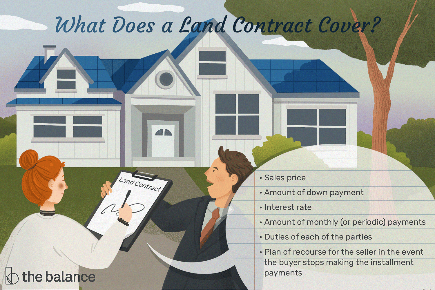 How A Land Contract Works For Buying Homes