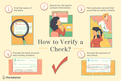 How to Verify Funds on a Check Before it Bounces